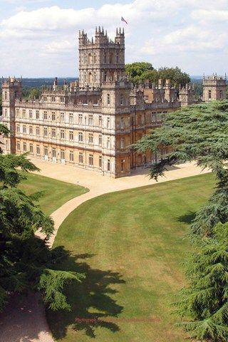 Highclere Castle Berkshire, the beautiful setting for Downton Abbey, very special.
