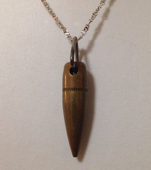 Pre Owned Bullet Shaped Pendant
