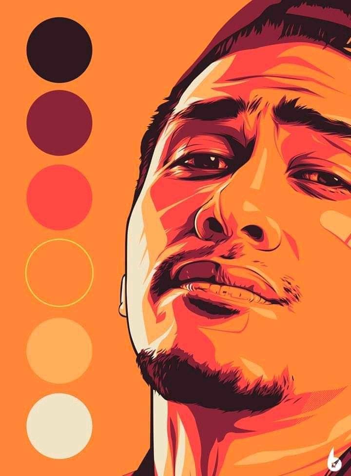 Wpap Color Palette : color, palette, Adeilham:, Bighead, Cartoon, Caricature, Hours, Fiverr.com, Photoshop, Illustration, Digital, Paintings,, Vector, Portrait, Design