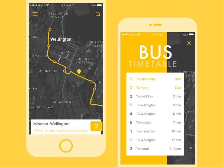 Go bus APP by sunm.lu