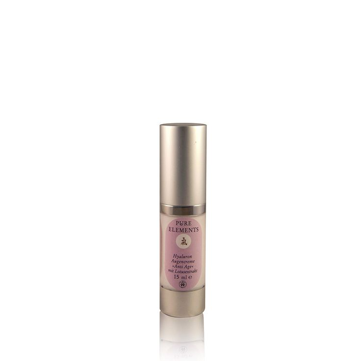 Pure Elements Hyaluron Oogcrème Anti-age (15ml)  http://www.purelements.nl/product/hyaluron-serum-oogcreme/