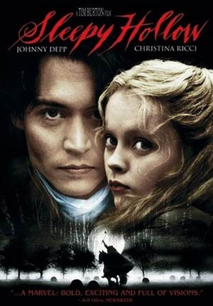 Movie: Sleepy Hollow Starring: Johnny Depp, Christina Ricci, Miranda Richardson, Michael Gambon, Casper Van Dien, Jeffrey Jones,Richard Griffiths. Ian McDiarmid, Michael Gough,	  Christopher Walken