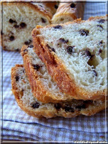 La Polpetta Perfetta: Pigrizia & Perdizione: No-Knead Pan brioche alle gocce di cioccolata fondente