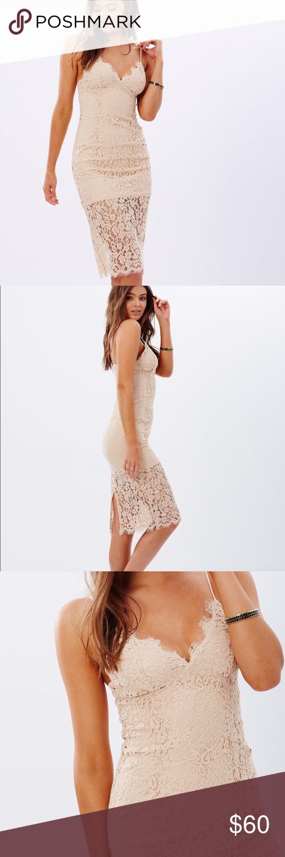 ONE DAY SALE 🎉Bardot dress Used once for 5 hours Bardot Dresses Midi