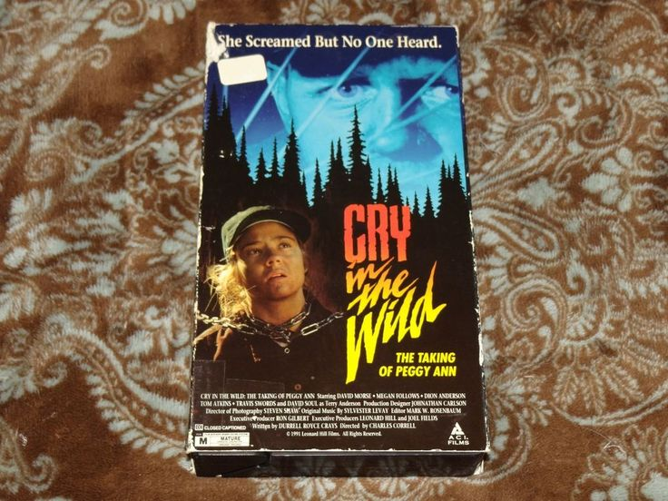 Cry in the Wild: Taking of Peggy Ann (VHS, 1993) Rare OOP True Kidnapping Story!