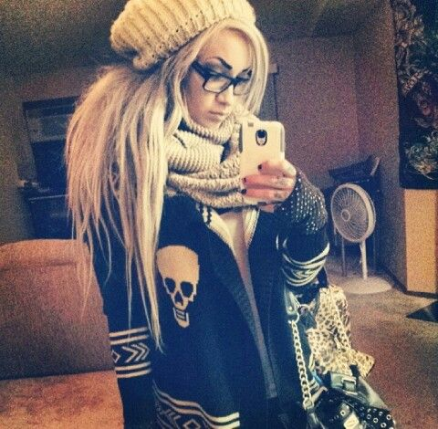 How many sweaters with skulls do I need? I'll let you know when I've reached that point.