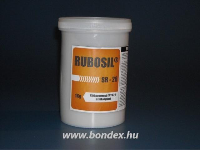 FDA önthető szilikon egyedi cukrászati formákhoz Rubosil sr-26