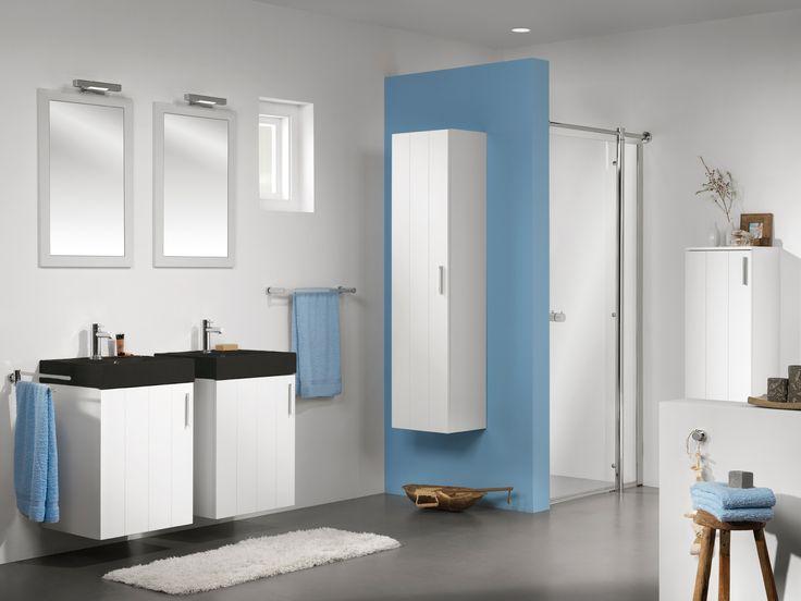 Jaloezieen Voor Badkamer ~ over Badkamer Wastafel Kasten op Pinterest  Badkamer Kasten, Badkamer