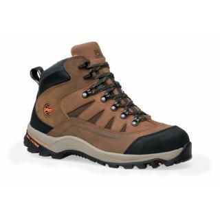 Trucker's Choice - Calzado de protección de cuero para hombre marrón marrón, color marrón, talla 39