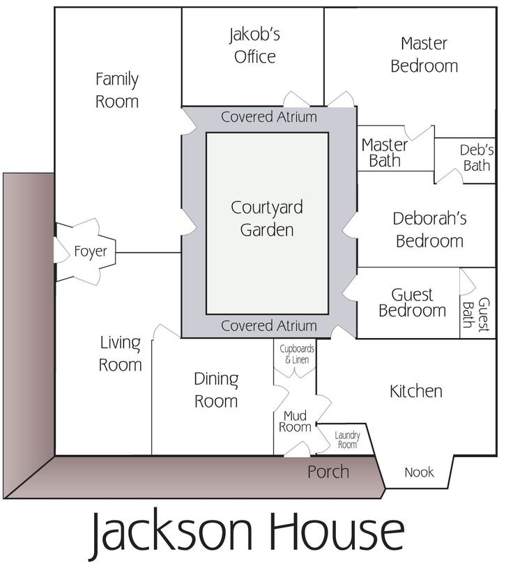 Best 25+ Courtyard house plans ideas on Pinterest | House plans with  courtyard, Courtyard house and House with courtyard