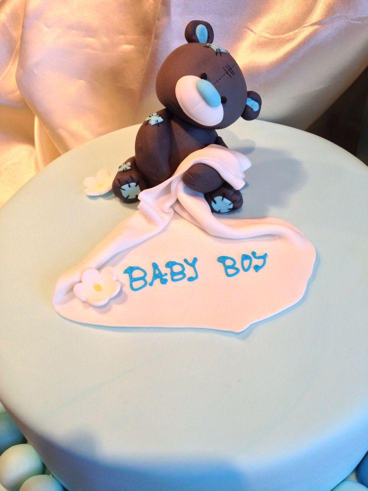 #babyshower #cake #teddybear