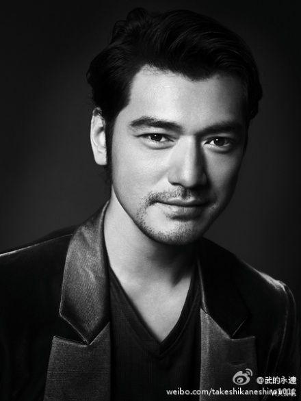 Takeshi Kaneshiro  金城武  / Vogue /pic from Sina Weibo (武的永遠)