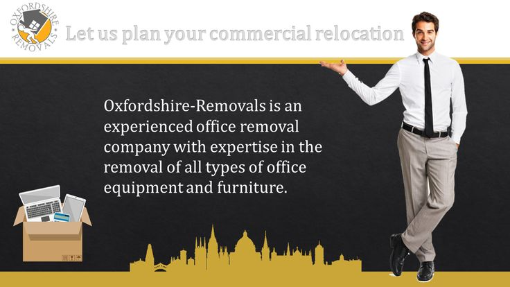 Commercial Relocation Oxford. Experienced Office Removal Company Oxfordshire.