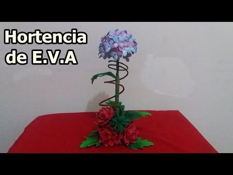 Flor de E.V.A APIADINHO - YouTube