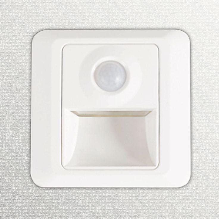 Marvelous LED Treppenbeleuchtung LCSS eckig Watt Bewegungsmelder