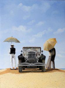 Painting - Baci Nel Deserto by Guido Borelli