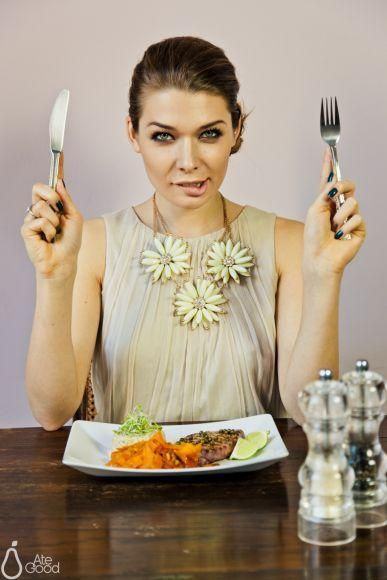 Dominique just AteGood: grilled tuna steak