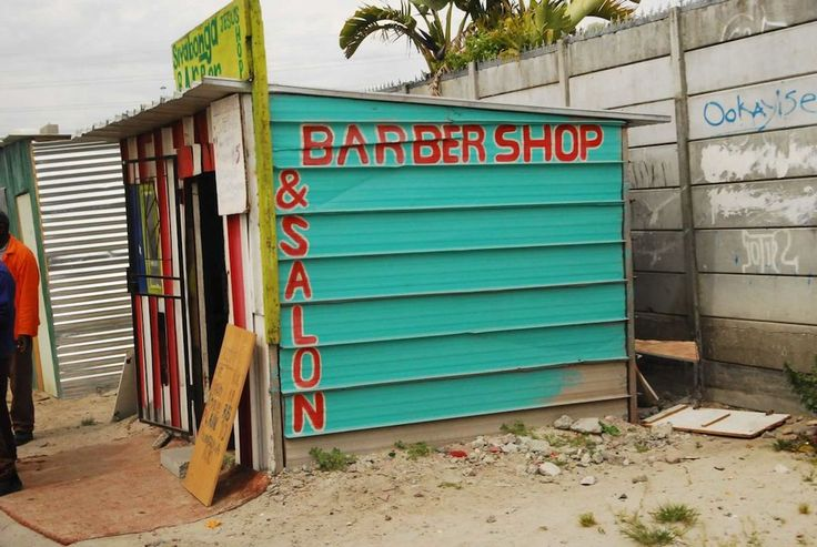 Barber shop, Cape Town, South Africa