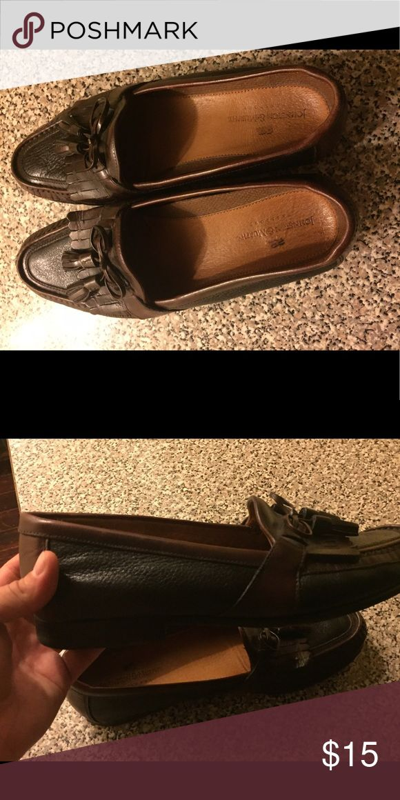 Men's Johnson and Murphy Brown Shoes are 11. Johnston & Murphy Shoes Loafers & Slip-Ons