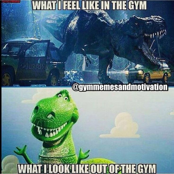 Inside gym and outside gym looks