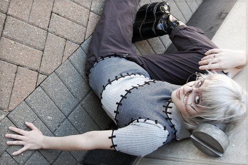 Fraken Stein cosplay -- soul eater