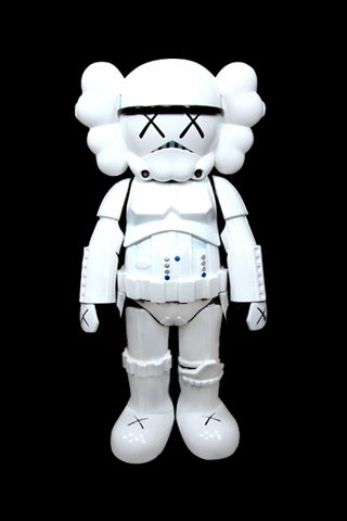 Kaws Iphone X Storm Trooper Android Wallpaper HD