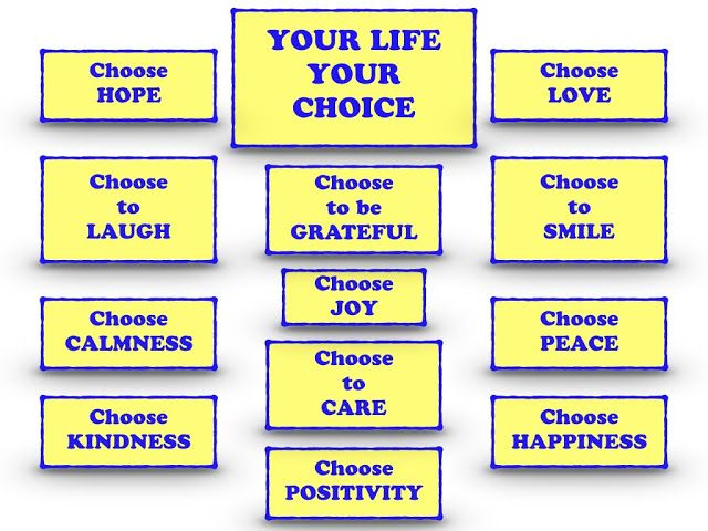 Rambling Prose: Your Life, Your Choice