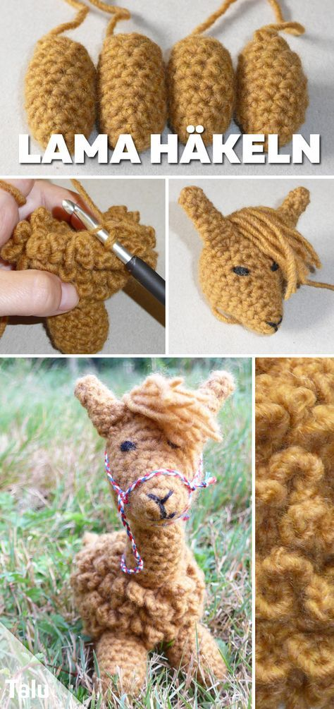 Crochet Lama – Amigurumi crochet pattern for an alpaca