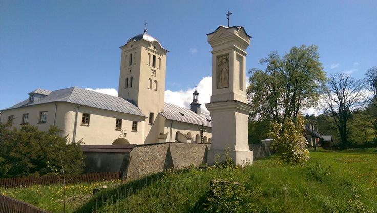 Klasztor - Św. Katarzyna k. Kielc - Polska