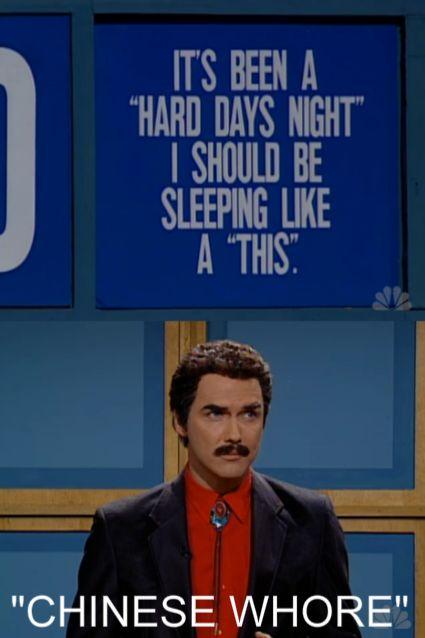 SNL Jeopardy & Burt Reynolds....Norm, you are hilarious! LMAO  @Vicki Miller