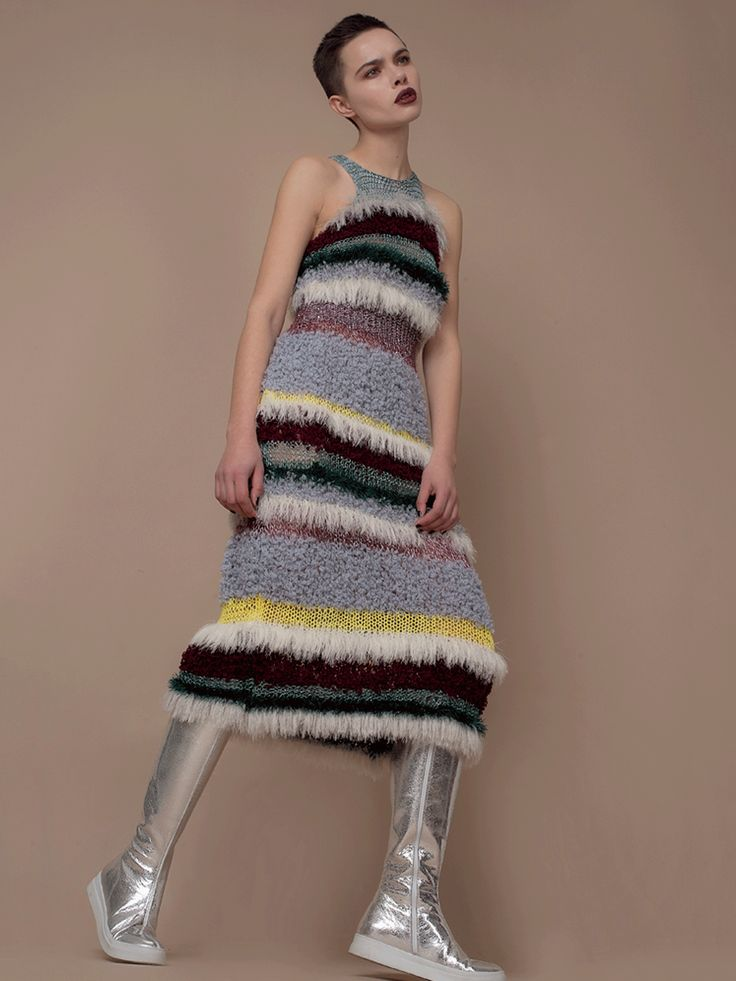 Hand Made Knitted Dress | Andreeva | NOT JUST A LABEL
