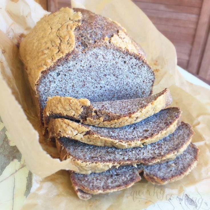 almond linseed paleo bread quirky cooking
