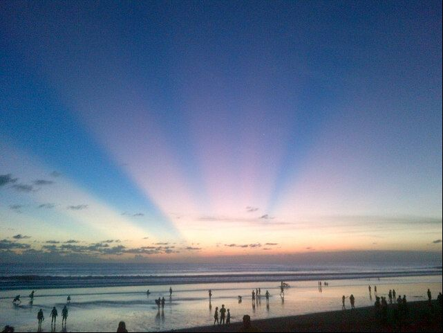 Pantai Kuta (Kuta Beach) di Badung, Bali