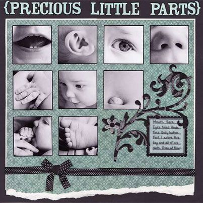 Scrapbooking247-precious little parts