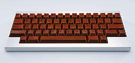 伝統工芸「輪島塗」のキーボード