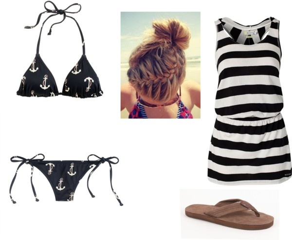 Anchor bathing suit... adorbs