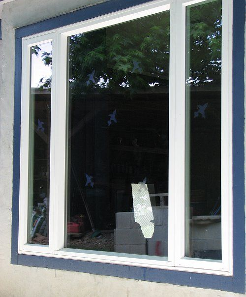 Window Alert - Stops birds from hitting large windows.  These really work!