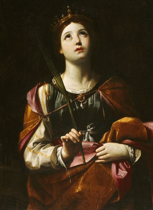 Guido Reni. Saint Catherine of Alexandria. My daughter's patron saint!