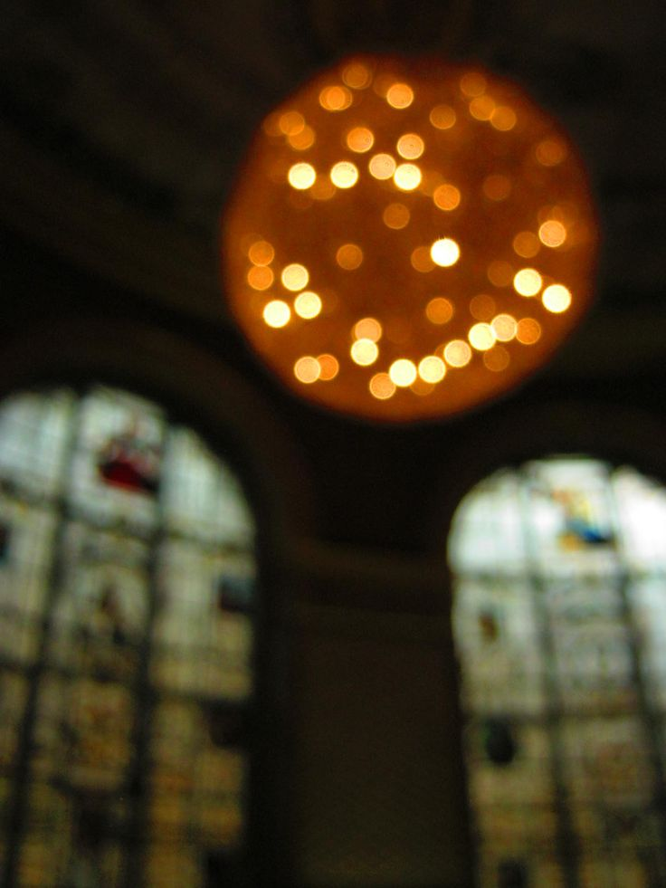 Dining room of the Victoria and Albert Museum, London - One of the beautiful mistakes.. auto-focus apparently didn't..
