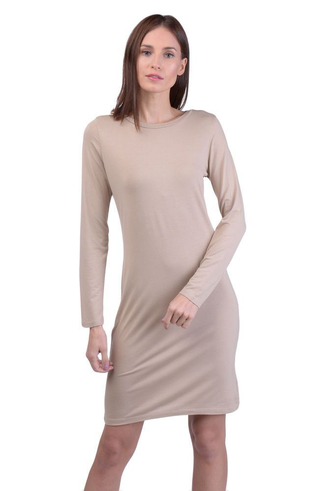 2cccaea125b LO NOT EQUAL T-Shirt Style Dress Size M Long Sleeve Crew Neck Made in Italy   fashion  clothing  shoes  accessories  womensclothing  dresses (ebay link)