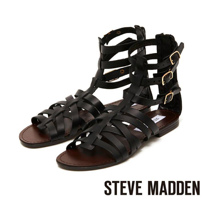 STEVE MADDEN -- 中性俐落夏日感羅馬平底涼鞋 --. YahooSandalSandalsShoes Sandals