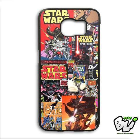 Star Wars Comic Samsung Galaxy S6 Edge Case