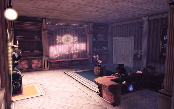 Image result for bioshock infinite rooms Bioshock
