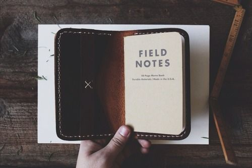 Notebook and wallet