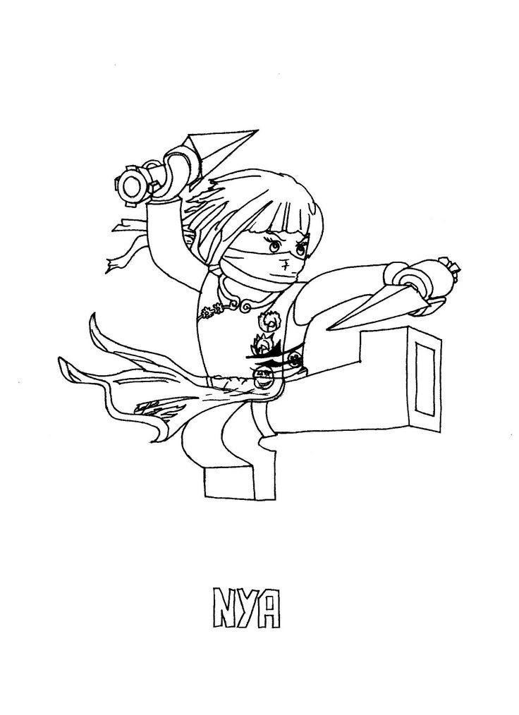 Ninjago Coloring Pages For Kids