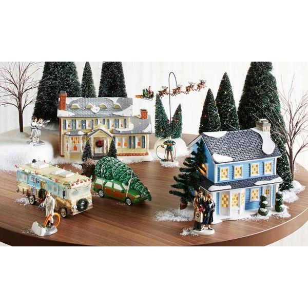 17 best Dept 56 Christmas Vacation Snow Village images on ...