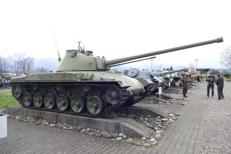 Status Report: Panzer 58 in Thun