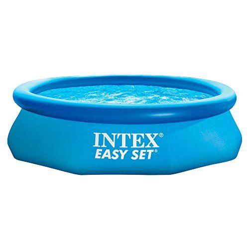 Intex Piscine Easy Set Pools® de support, bleu: Le plaisir de la baignade chez soi en toute simplicité ! Une installation facile et rapide…