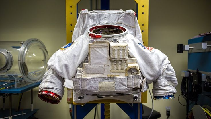 How Astronauts Put on Space Suits | via Tested