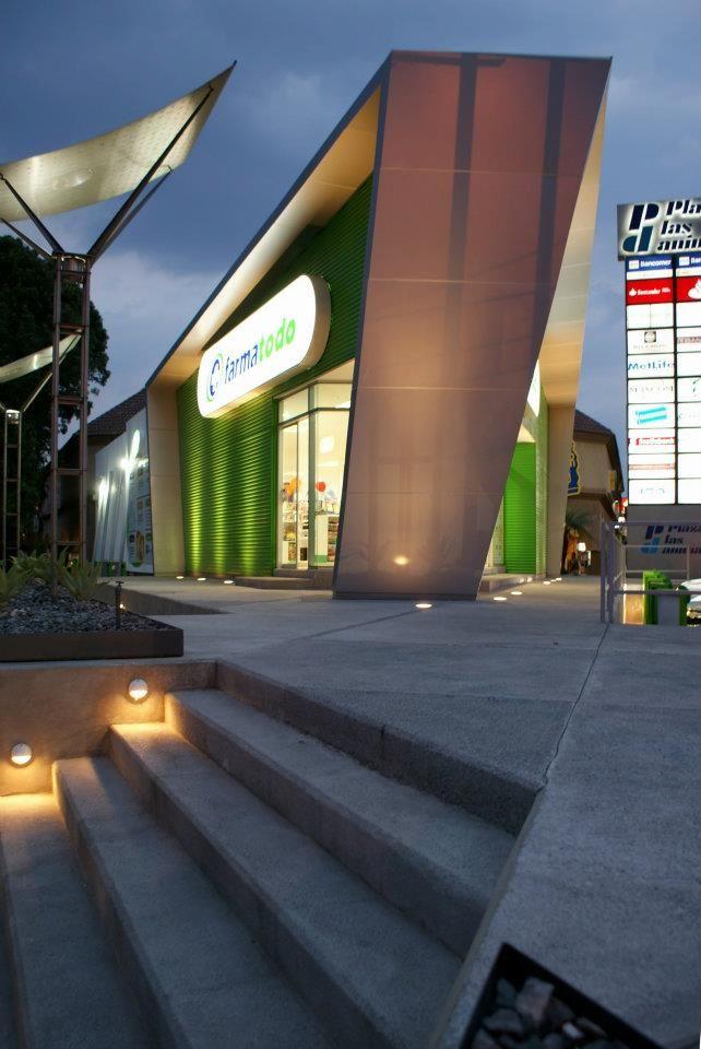Farmatodo   Dionne Arquitectos #outdoor #architecture